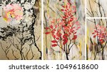 a collection of designer... | Shutterstock . vector #1049618600