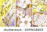 a collection of designer...   Shutterstock . vector #1049618603