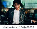 half length portrait of... | Shutterstock . vector #1049623553