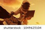 Astronaut Space Suit Works Laptop - Fine Art prints