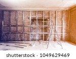frames for plasterboard for... | Shutterstock . vector #1049629469