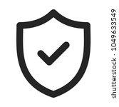 security icon vector   Shutterstock .eps vector #1049633549