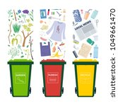 general  garden and recycle... | Shutterstock .eps vector #1049661470