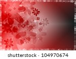 abstract background with red... | Shutterstock . vector #104970674
