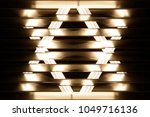 fluorescent lights visible... | Shutterstock . vector #1049716136