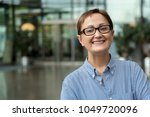 business woman. portrait of... | Shutterstock . vector #1049720096