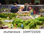 prague  czech republic   april... | Shutterstock . vector #1049721020