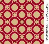 vector seamless pattern in... | Shutterstock .eps vector #1049726348