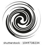 circular geometric motif.... | Shutterstock .eps vector #1049738234