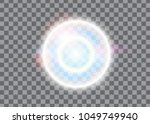 light effect  glowing flare... | Shutterstock .eps vector #1049749940