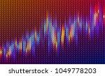 abstract vector finance  big... | Shutterstock .eps vector #1049778203