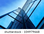 modern office building on a...   Shutterstock . vector #104979668
