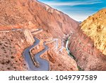dades gorge is a beautiful road ... | Shutterstock . vector #1049797589