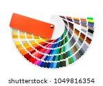 Color palette samples on white...
