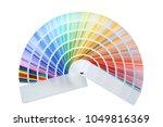 color palette samples on white... | Shutterstock . vector #1049816369