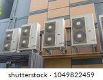 ventilation air conditioning... | Shutterstock . vector #1049822459