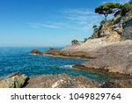 view of mediterranean sea an... | Shutterstock . vector #1049829764