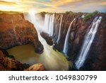 Victoria Falls In Zambia And...