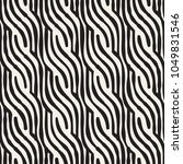 hand drawn striped seamless... | Shutterstock .eps vector #1049831546