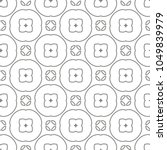 seamless vector pattern in... | Shutterstock .eps vector #1049839979