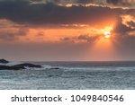 atlantic waves at mealista... | Shutterstock . vector #1049840546