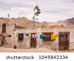 ladakh village life on himalaya ... | Shutterstock . vector #1049842334