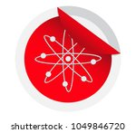 icon structure of the nucleus...   Shutterstock .eps vector #1049846720