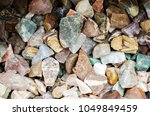 variety of rocks and gems | Shutterstock . vector #1049849459