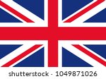 united kingdom union jack... | Shutterstock .eps vector #1049871026