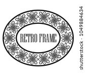vintage luxury retro ornamental ... | Shutterstock .eps vector #1049884634