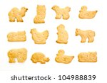 Animal Crackers Isolated On...