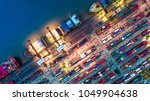 logistics and transportation of ... | Shutterstock . vector #1049904638