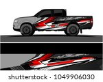 truck  car and vehicle racing... | Shutterstock .eps vector #1049906030