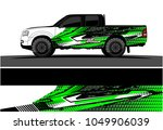 truck  car and vehicle racing... | Shutterstock .eps vector #1049906039