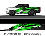 truck  car and vehicle racing... | Shutterstock .eps vector #1049906093