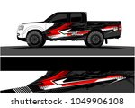 truck  car and vehicle racing... | Shutterstock .eps vector #1049906108
