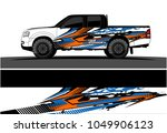 truck  car and vehicle racing... | Shutterstock .eps vector #1049906123