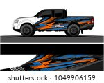 truck  car and vehicle racing... | Shutterstock .eps vector #1049906159