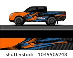 truck  car and vehicle racing... | Shutterstock .eps vector #1049906243