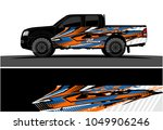 truck  car and vehicle racing... | Shutterstock .eps vector #1049906246