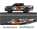 truck  car and vehicle racing... | Shutterstock .eps vector #1049906249