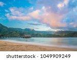 Hanalei Pier Sunrise   Kauai ...