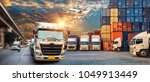 business logistics and... | Shutterstock . vector #1049913449