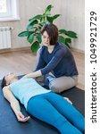 woman practicing special... | Shutterstock . vector #1049921729