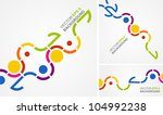 vector background of stylized... | Shutterstock .eps vector #104992238