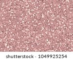 rose gold sequins seamless... | Shutterstock .eps vector #1049925254