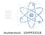 abstract geometric polygon... | Shutterstock .eps vector #1049933318