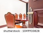 vintage decorated meeting room... | Shutterstock . vector #1049933828