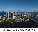 aerial view of modern city... | Shutterstock . vector #1049937293