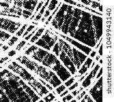 grunge halftone black and white ... | Shutterstock .eps vector #1049943140